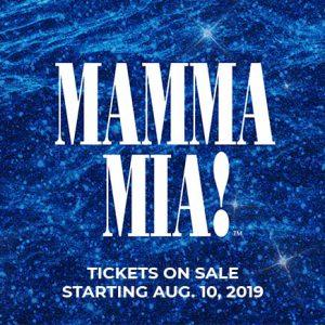 MAMMA MIA Audition Information – New Bedford Festival Theatre